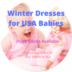 Winter Dresses for USA Babies